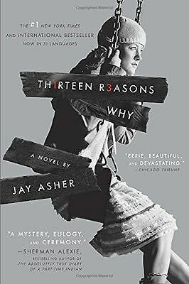13 Reasons Why By Jay Asher 2011 Paperback New Book 1st Brand Edition