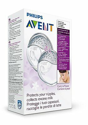 Philips Avent Scf157/02 Comfort Breast Shell Set Nipple Protection *new & Sealed
