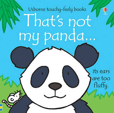**NEW HB** That's Not My Panda by Fiona Watt (Board book, 2012)