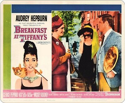 Breakfast At Tiffany's Audrey Hepburn Mouse Mat