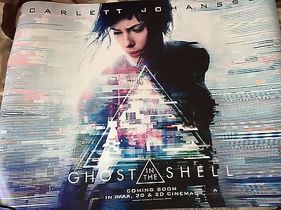"Ghost in the Shell (2017) Original Cinema Quad Poster 40x30""  UK"