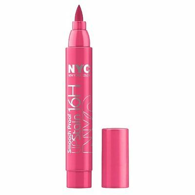 NYC New York Color Smooch Proof Lip Stain - Forever Fuchsia