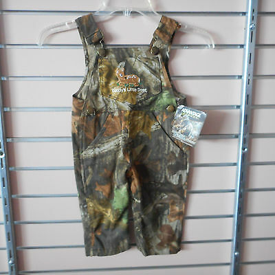 Advantage Timber Infant Girls Sizes 9-12-18&24Mth. Daddy's Little Deer Overalls