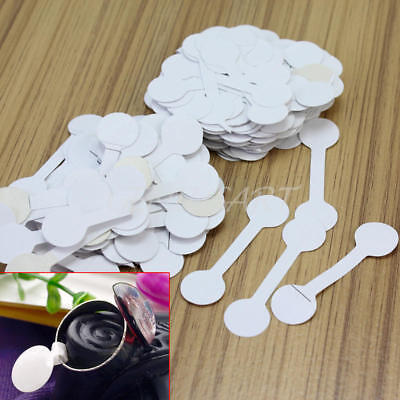 200x Jewelry Price Label White Paper Sticker Tags for Rings Bracelet Sunglasses