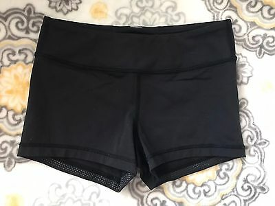 IVVIVA Black Fitted Children's Shorts Size 10