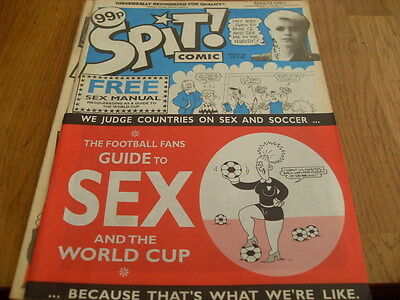 Spit Comic Issue 18  (Like Viz, Smut,zit)