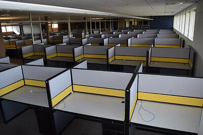 240 Teknion TOS Call Center Cubicles / Work Stations -- $120.00 Per Station
