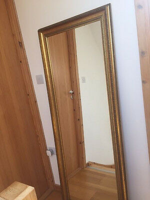 French Antique large mirror in good condition