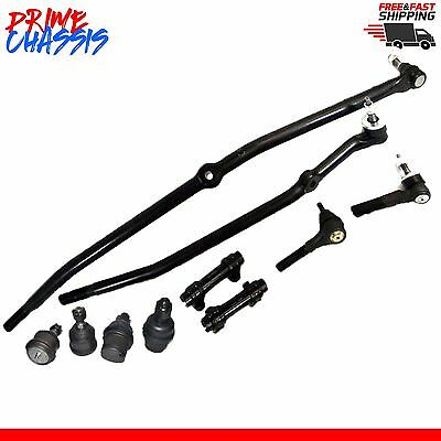 10 PC Kit Dodge Ram 2500 3500 03-04 4W Tie Rod End Center Link Sleeve Ball Joint