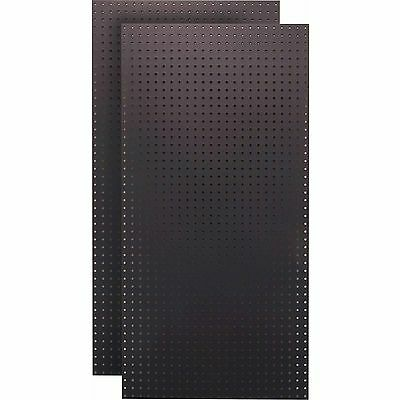 "Tempered Wood Pegboard (2) 24""W x 48""H x 1/4""D Custom Painted Heavy Duty Temp..."