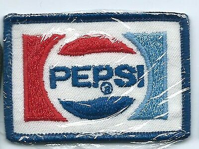 Pepsi driver/employee advertising patch 1-7/8 X 2-3/4 #1307