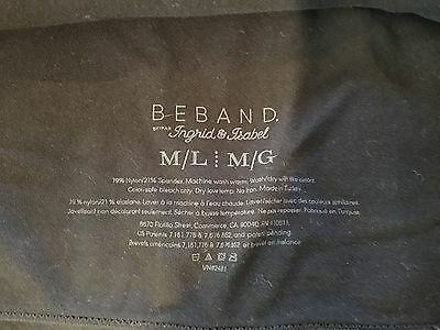 Beband Maternity Band Extender Black Med Large