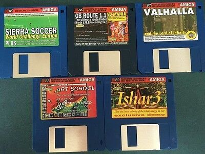 Commodore Amiga software disks various games and utilities #30