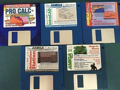 Commodore Amiga software disks various games and utilities #31