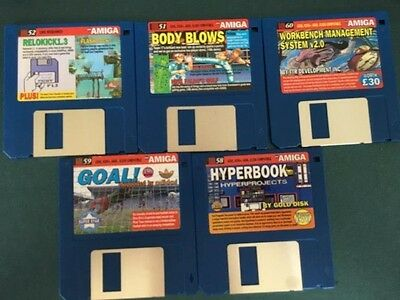 Commodore Amiga software disks various games and utilities #33