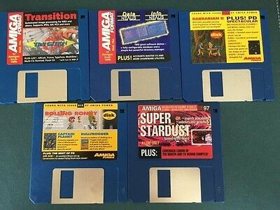 Commodore Amiga software disks various games and utilities #40
