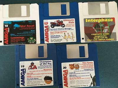 Commodore Amiga software disks various games and utilities #46