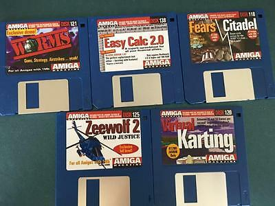 Commodore Amiga software disks various games and utilities #48