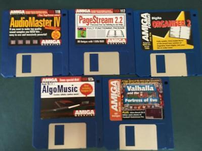 Commodore Amiga software disks various games and utilities #49