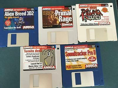 Commodore Amiga software disks various games and utilities #51