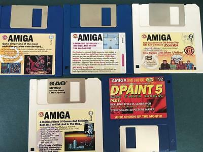 Commodore Amiga software disks various games and utilities #54