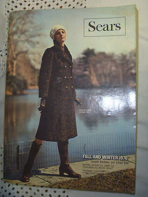 1970 Sears Roebuck and Co. Fall and Winter Catalog  Hippie Era