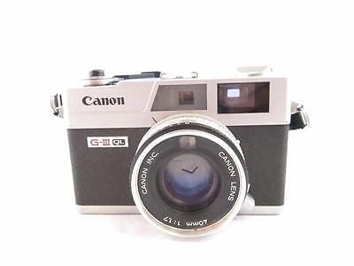 Canon Canonet Rangefinder G-III QL17 35 mm Camera In Very Good Condition