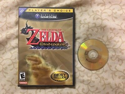 Legend of Zelda: The Wind Waker (Nintendo GameCube, 2003) Tested Works Great !!