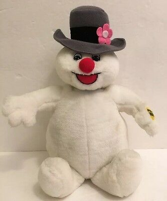 Frosty the Snowman Gemmy Sing Music Move Animated Plush
