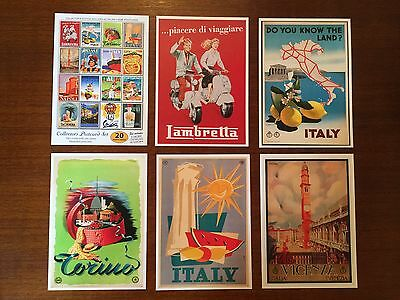 Italy Italian Theme Vintage Set Of 20 Postcards - Collectors Edition Set