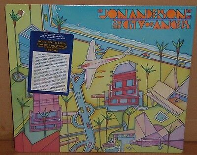 Jon Anderson In The City Of Angels NEW SEALED LP vinyl record cut out YES singer