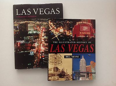 The Illustrated History Of Las Vegas / L V  A Pictorial Celebration Book Lot