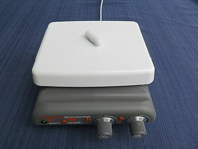Corning PC-420 Magnetic Stirrer & Hot Plate, 7.5x6 Porcelain Top excellent