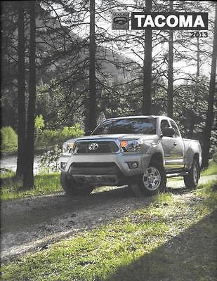 2013 13 Toyota Tacoma oiginal sales brochure MINT
