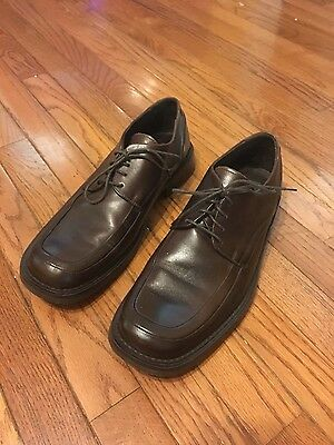 Men's KENNETH COLE NEW YORK Leather Lace Up Loafers Dress Shoes Size 11