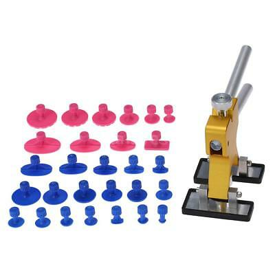 Car Body Dent Remover Repair Puller With 28 Suckers Kit Tools AU Fast shipping