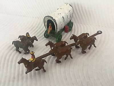 Early Lesney MOKO Matchbox Conestoga Coach RED BARRELS VERY RARE c.1955