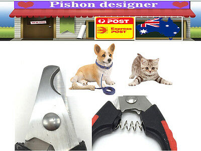 Pet Grooming Nail Clipper Cutter Scissor Dog Cat Clippers Pliers Trimmer Tool