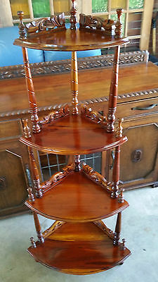 Vintage Mahogany Corner Stand -  SE QLD Delivery available
