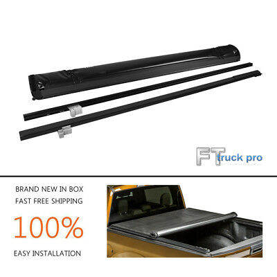 Roll up Lock Soft Tonneau Cover For 2009-2016 Dodge RAM 1500 2500 3500 5.7ft Bed