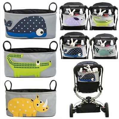 Baby Cart Tray Stroller Hanging Buggy Bags Cupholder Pram Cup Bag
