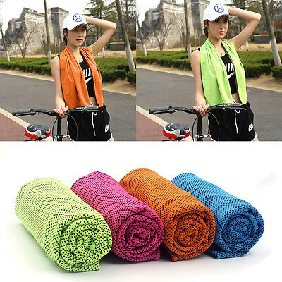 Non-Slip Yoga Towel Hiker Mat Grip Soft Absorbent Pilates Fitness Gym Washable