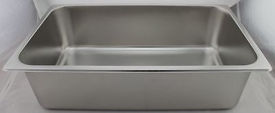 Stainless Steel Bain Marie Trays, 1/1 Size 150mm- Trenton