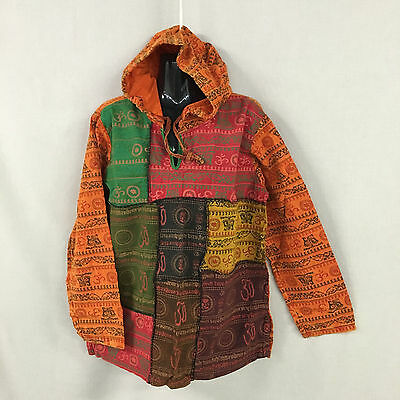 lot of 4 cotton patch hoodie.Unisex.Ohm print design.One eazy fit.new.Colours.