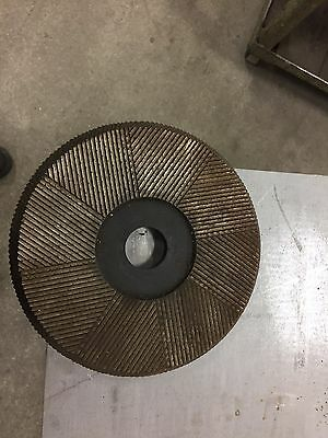 Industrial Rotary File Plate