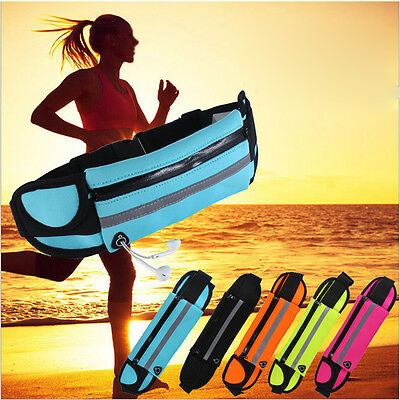 Unisex Waist Belt Bum Bag Pouch Sports Bag Running Jogging Belt Bag Waist Wallet
