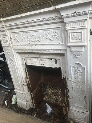 victorian Cast iron Style fireplace
