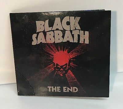 Black Sabbath The End CD Tour Edition Signed Ozzy Tony Iommi Geezer Butler