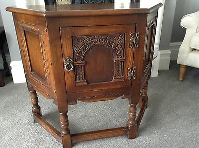 Old Charm Console / Canter Table/ Cupboard