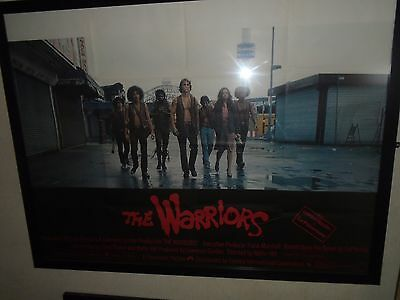 the warriors cinema poster